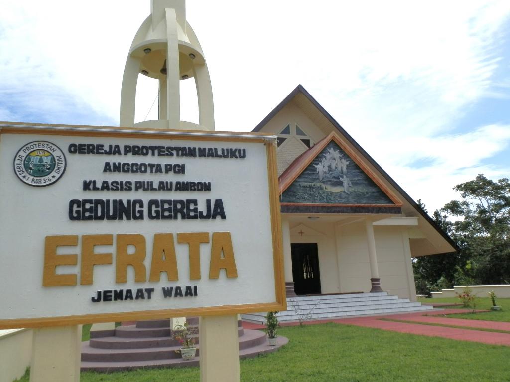 Gereja Efrata di Waai